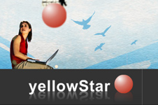 Corporate Web Blog design solution for yellowStar