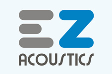 Corporate identity and branding design for EZ Acoustics