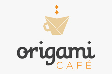 Corporate identity and branding design solution for Origami Café