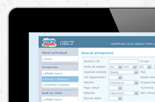 CRM system for the commercial management of TISOC