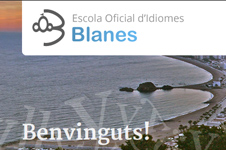 Website design and CMS solution for the school EOI Blanes