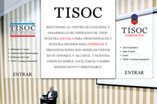 Corporate Website design and SEO campaign for TISOC