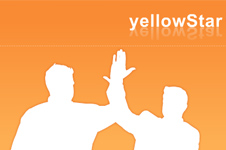 Flash multimedia Website design solution for yellowStar